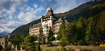 Das Hotel Walther in Pontresina